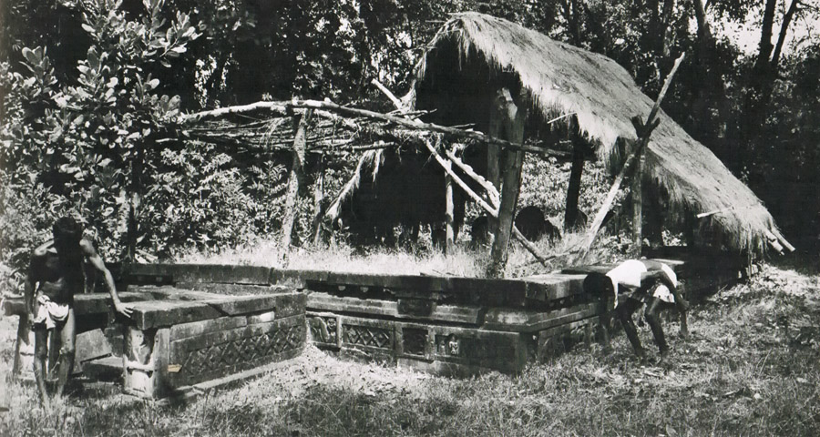 Old image of the temple (late 1960s) by Dr. Gritli Mitterwallner