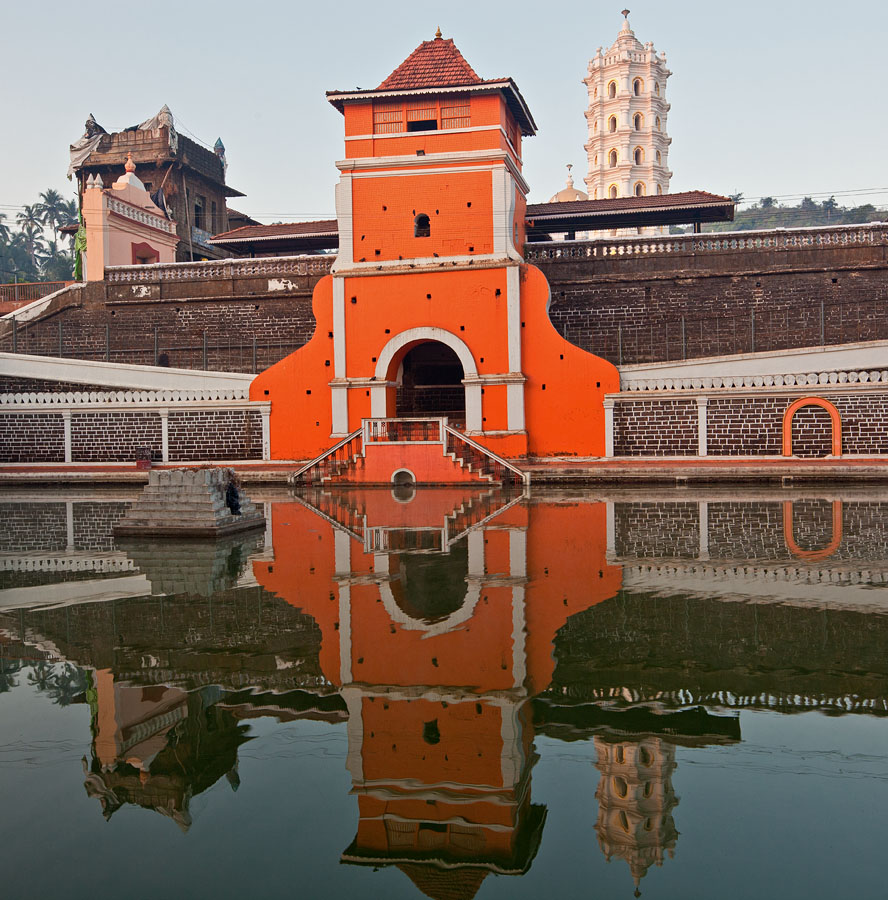 Temple tank today