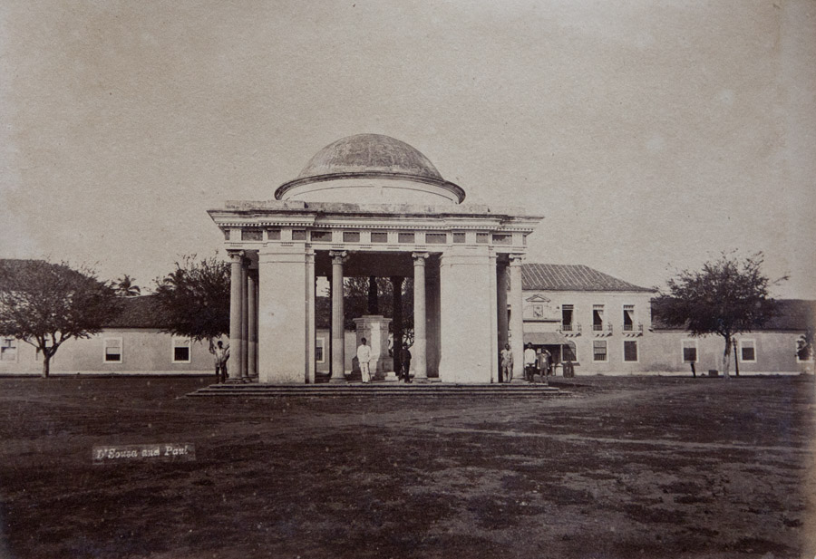 Archival photo of Azad Maidan c. 1910<br>©Souza & Paul