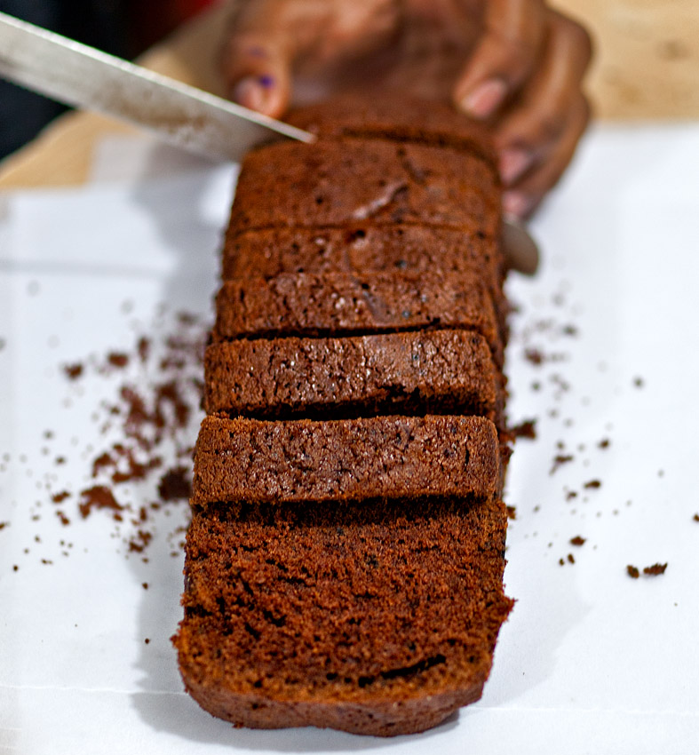 Melt-in-the-mouth chocolate cake