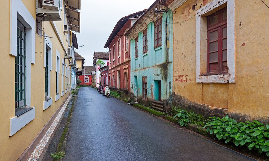 Latin Quarter of Panjim