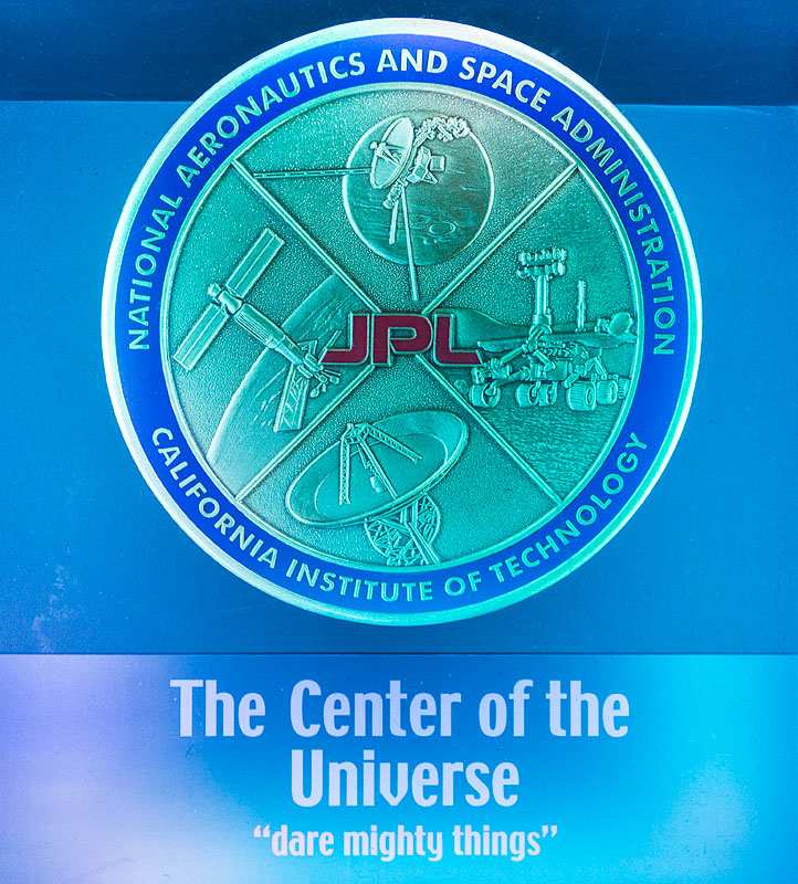 Centre of the Universe aka JPL
