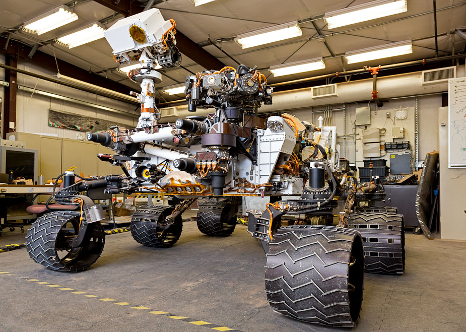 Earth-based Mars rover Maggie, Curiosity's twin