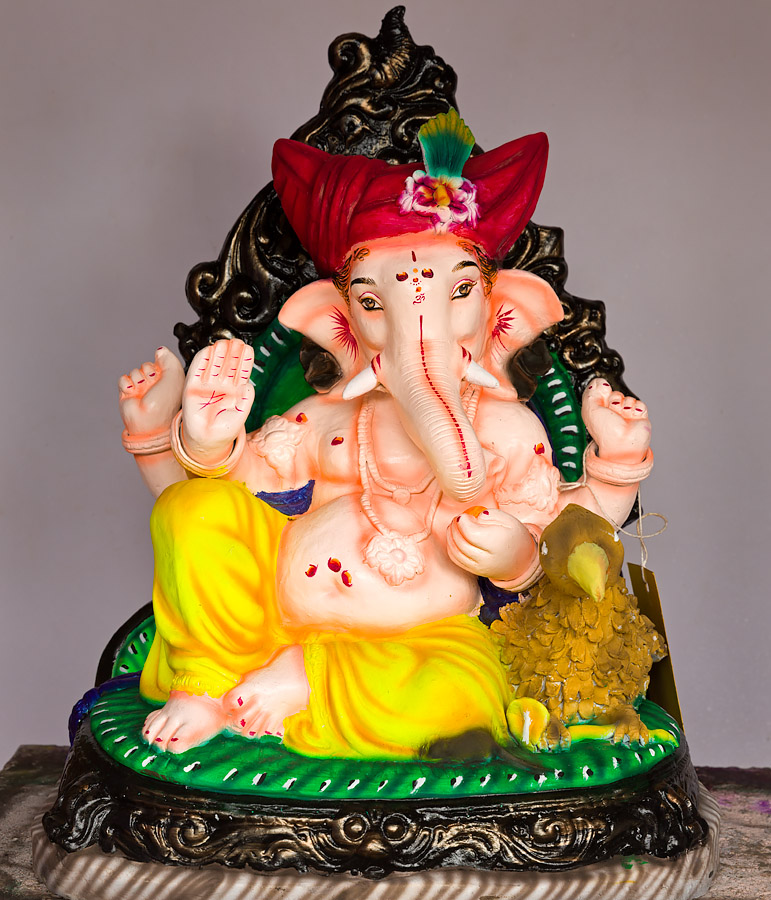 Ganesha made by Girish Tilve of Nagueshi