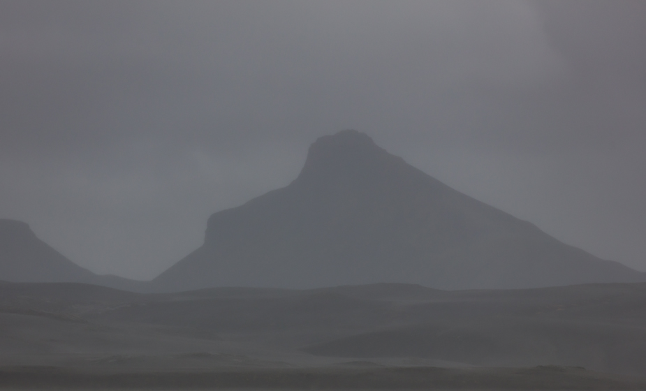 Þóristindur, seen from Krókslón, Iceland