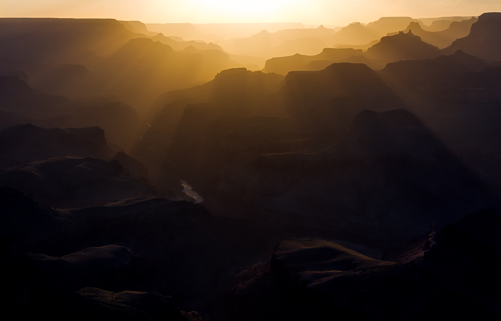 Sunset at Lipan Point, Grand Canyon, Arizona