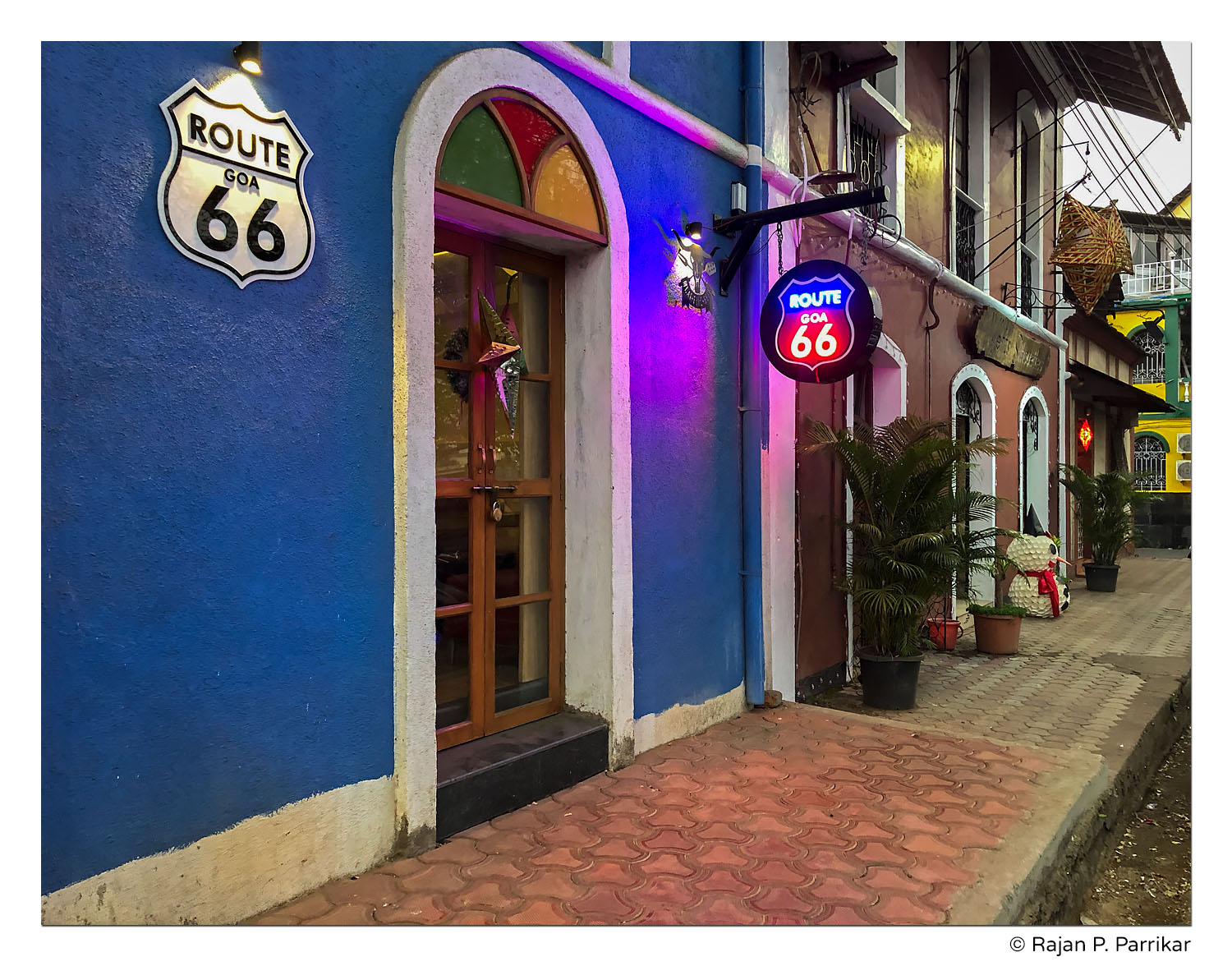Route 66 in Panjim, Goa