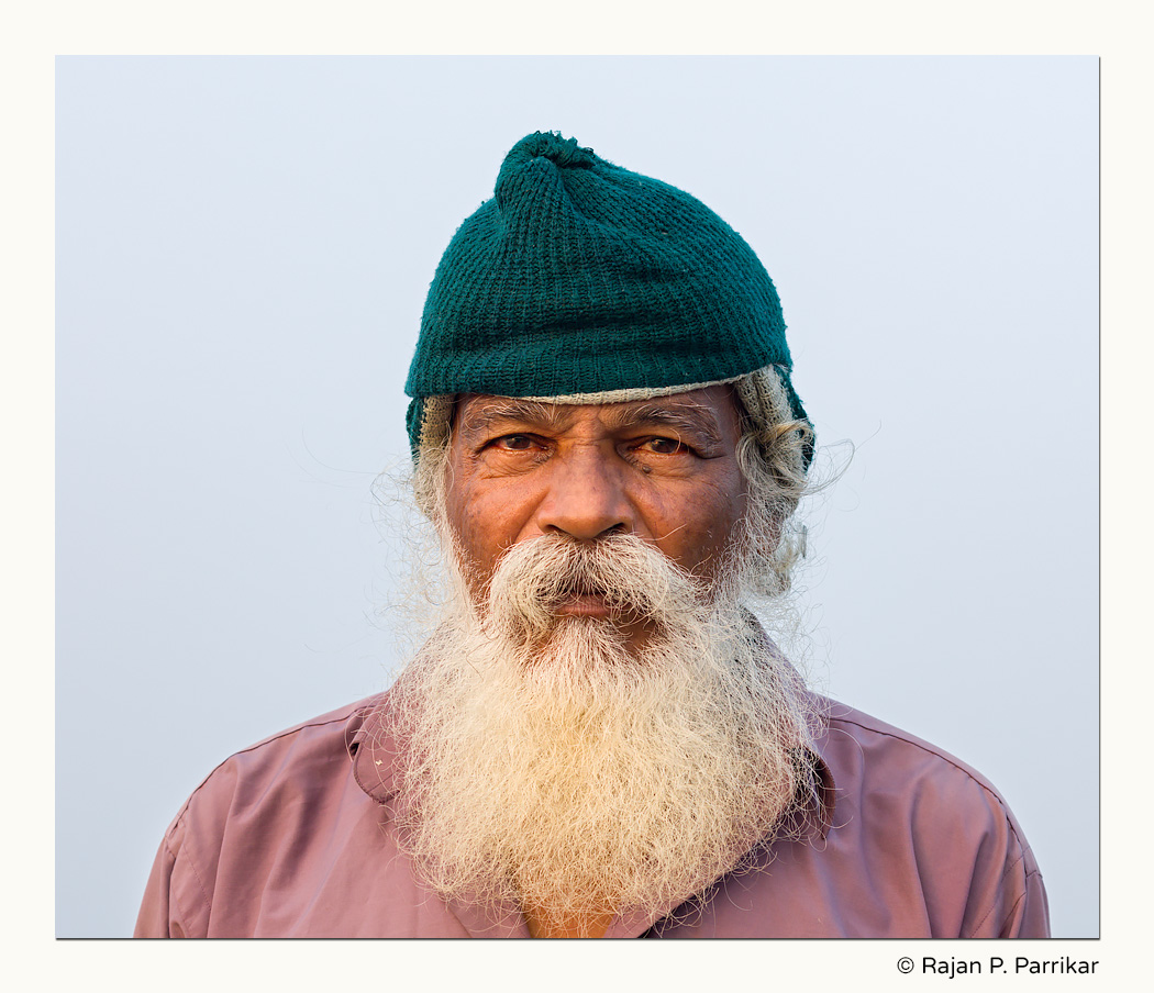 Fisherman Dhuma Kolwalkar of Ekoshi, Goa