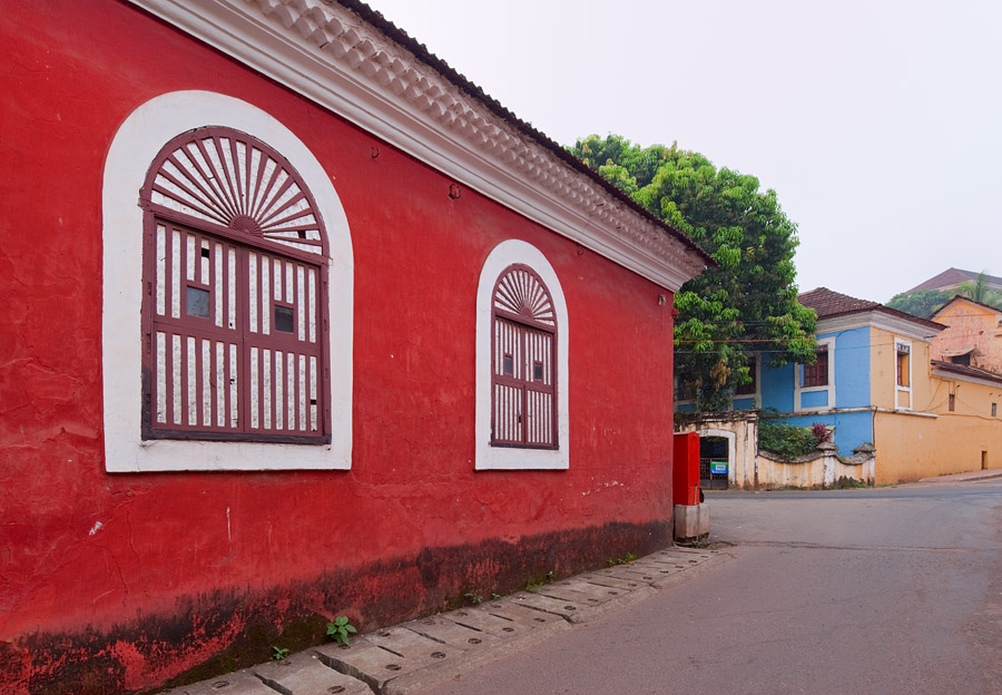 Old house in Panjim's Cortin quarter