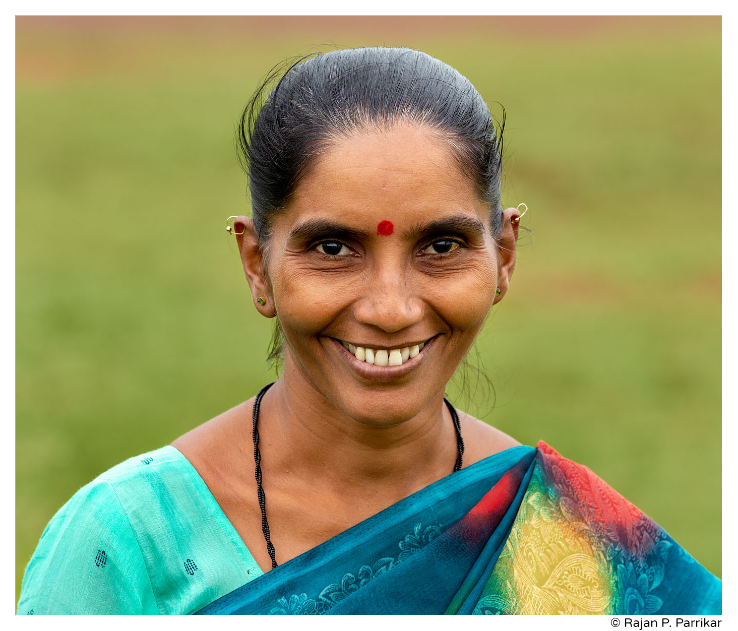 Richa Kandolkar, shepherdess from Korgaon, Goa