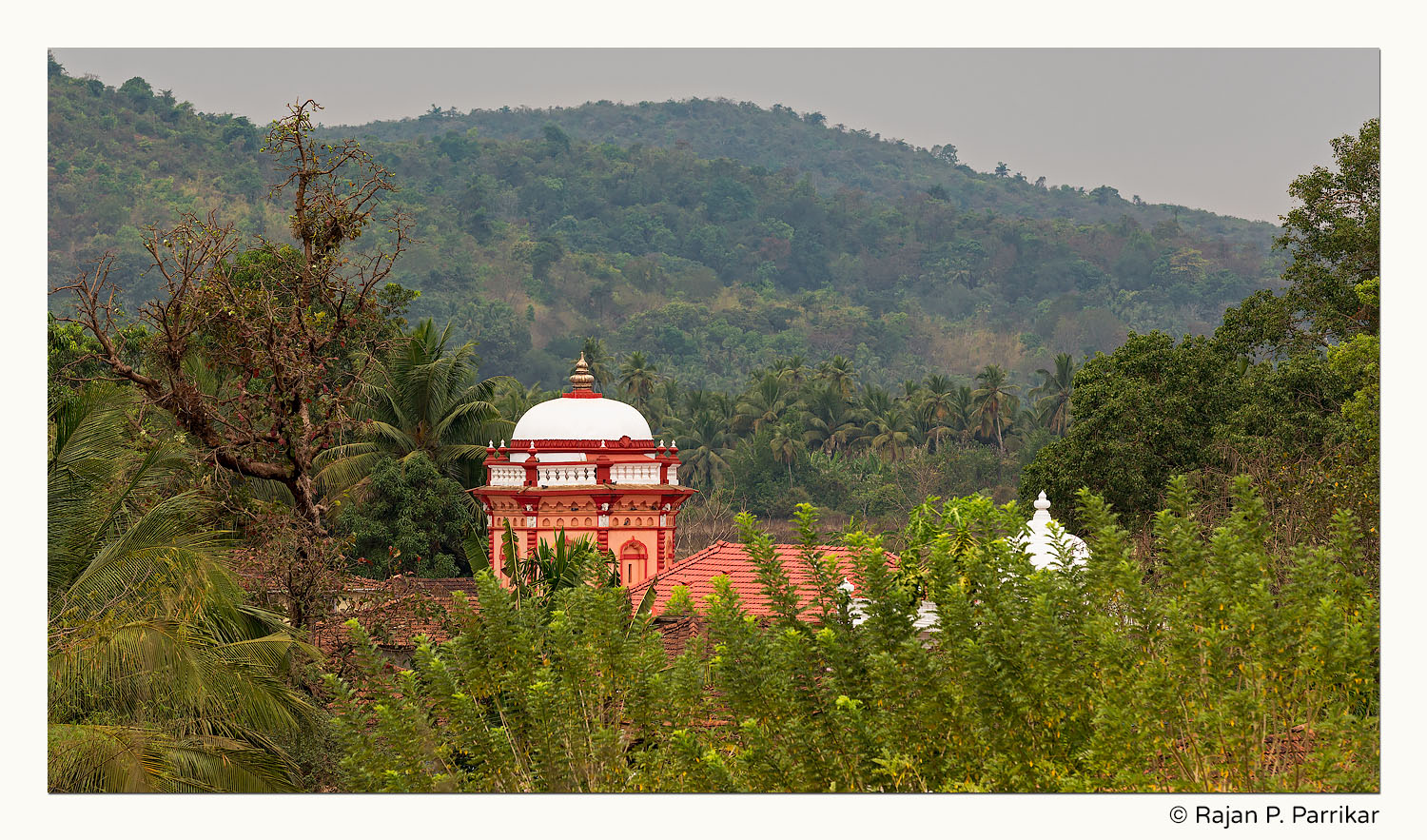 Gajantlakshmi Temple in Volvoi, Goa