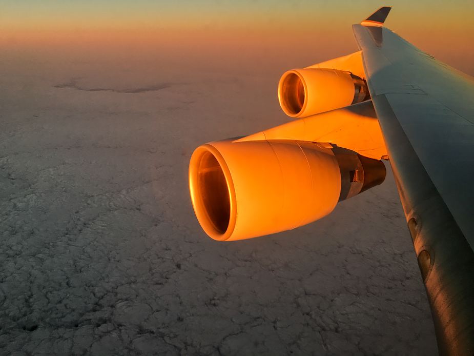 Boeing 747 Engines - First Light