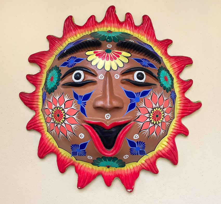 Mexican Wall Sculpture
