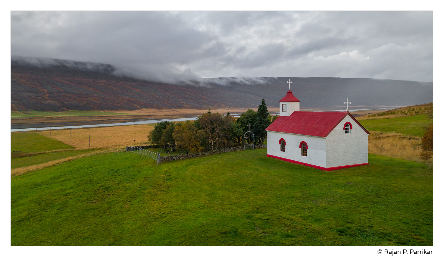 Church at Lundarbrekka in Bárðardalur, Iceland