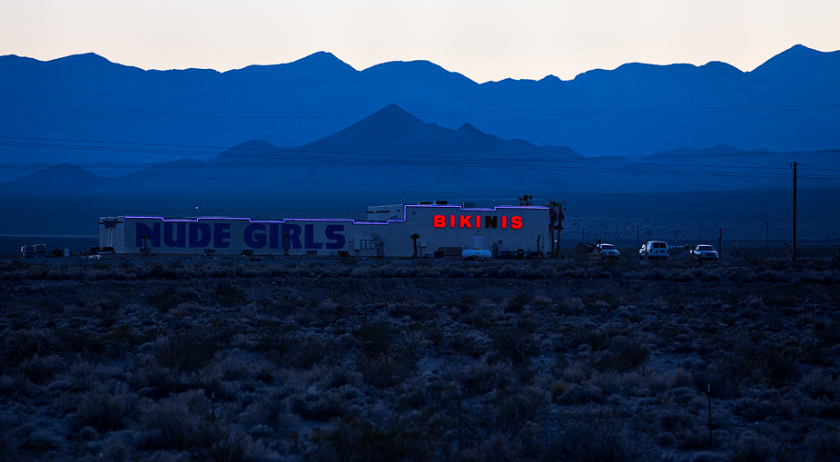 Bikinis, outside Beatty, Nevada