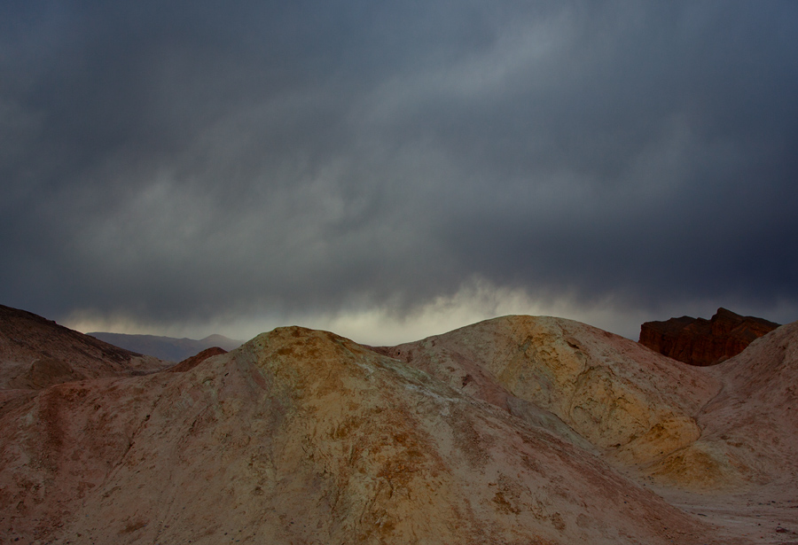 Storm in Death Valley