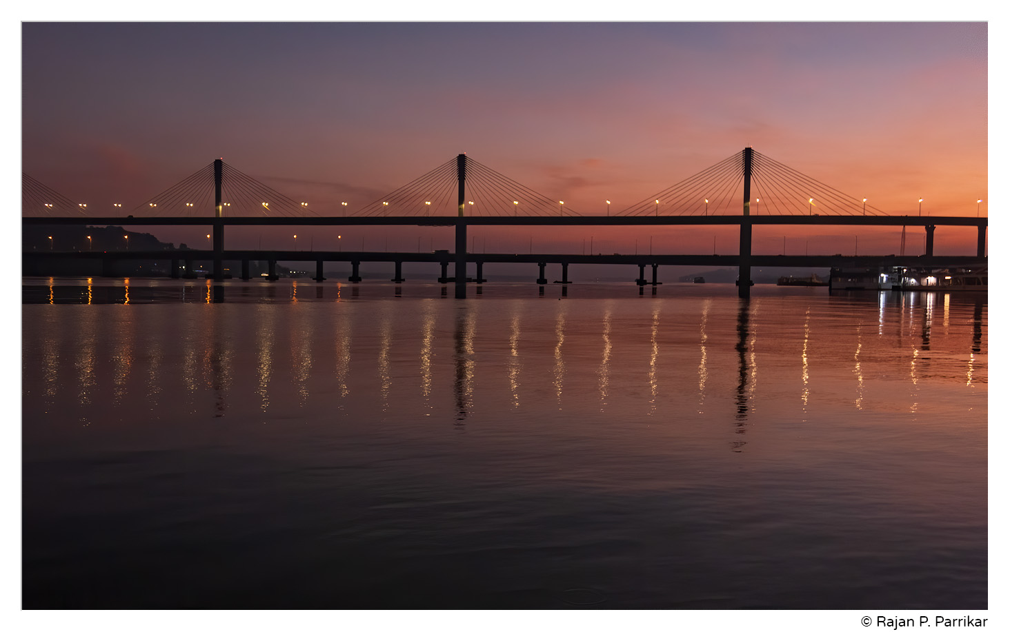 Dawn on the Mandovi, Panjim, Goa