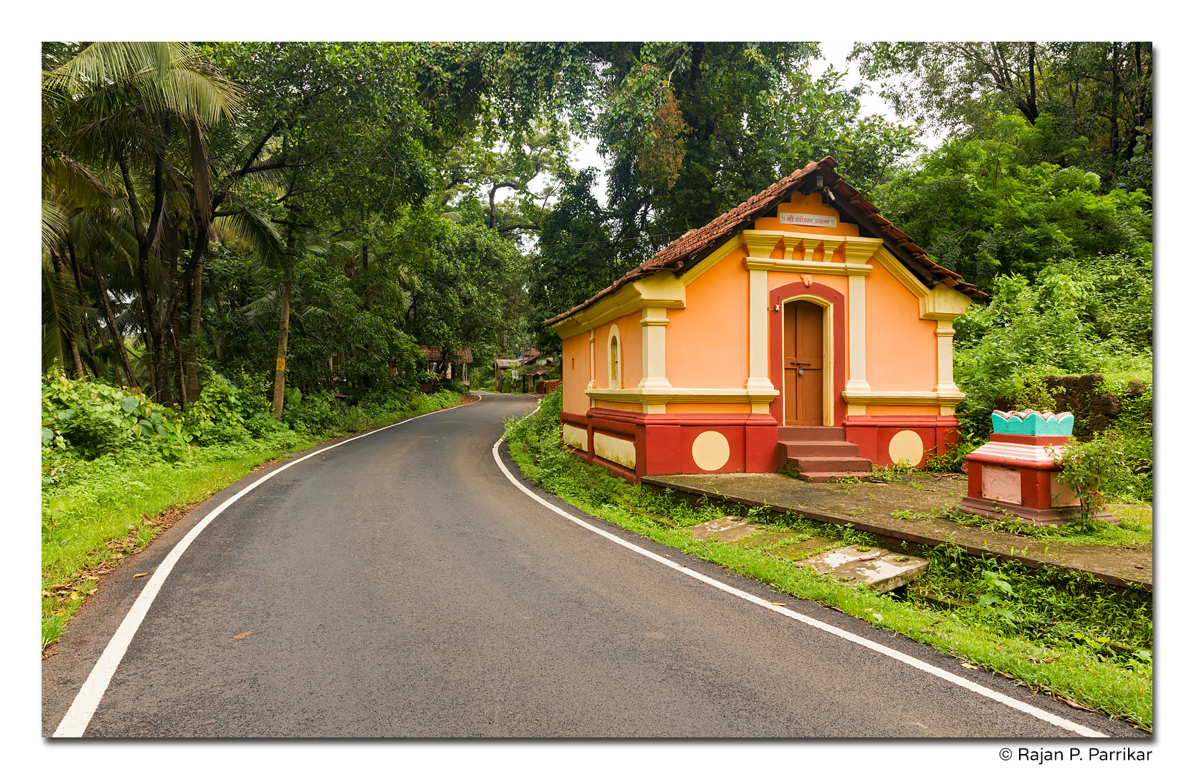 Vamsheshwar Temple in Tuem, Goa
