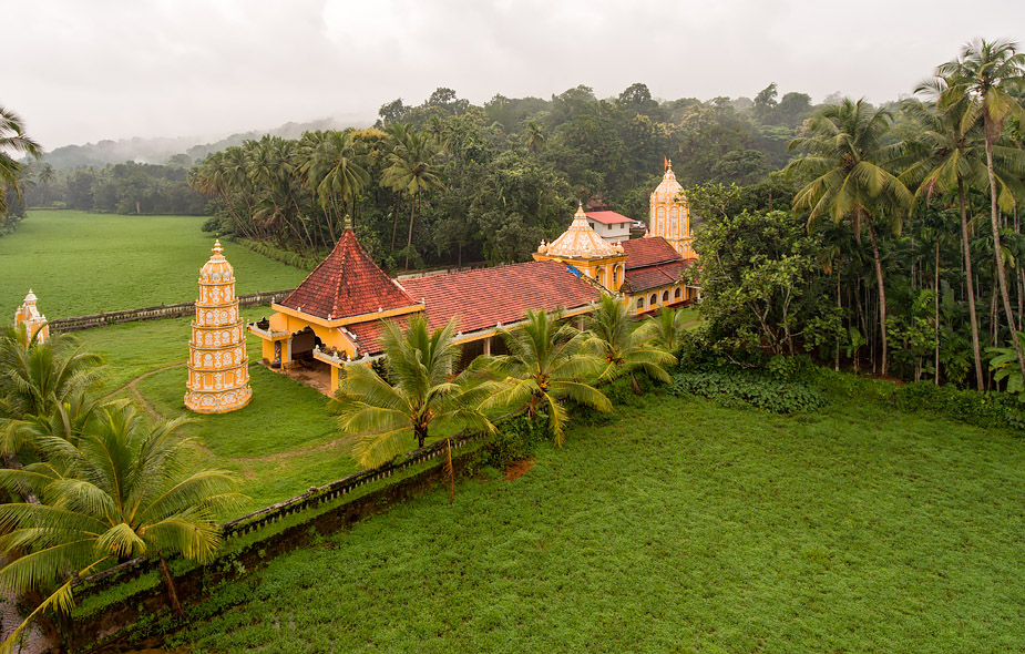 Anant Temple in Savoi-Verem, Goa