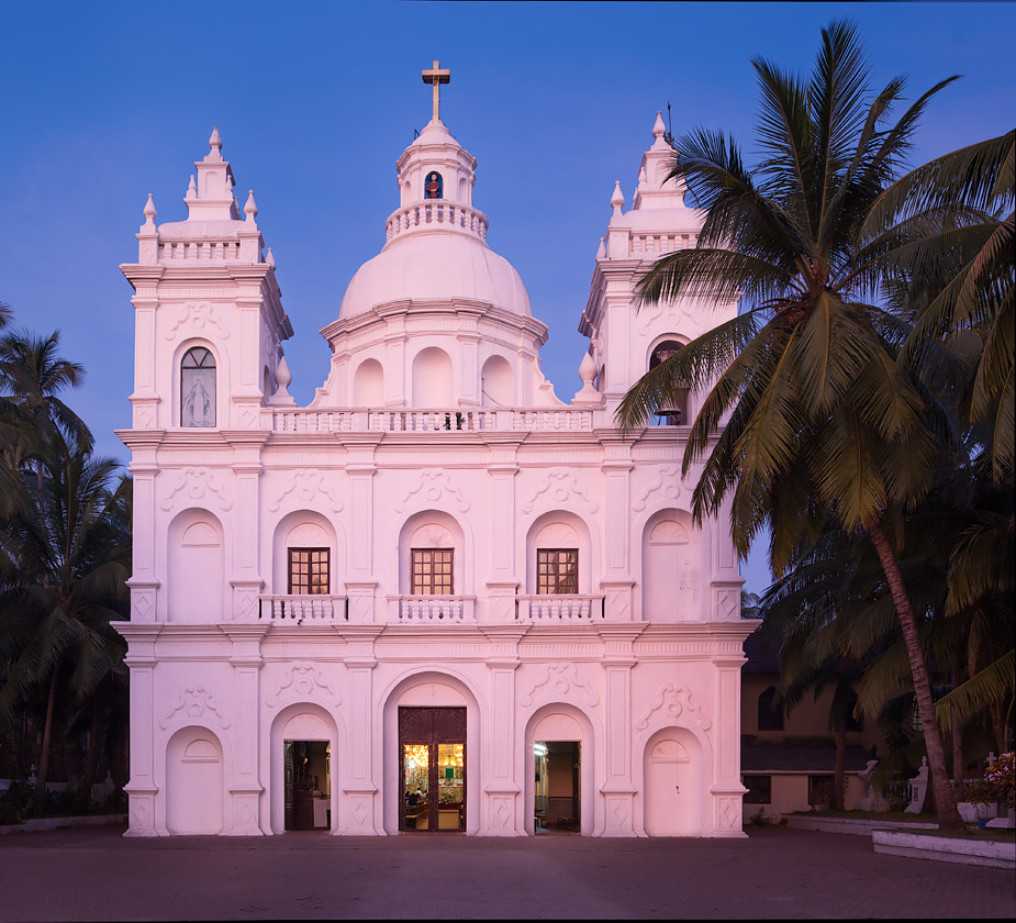 St Alex church in Calangute, Goa