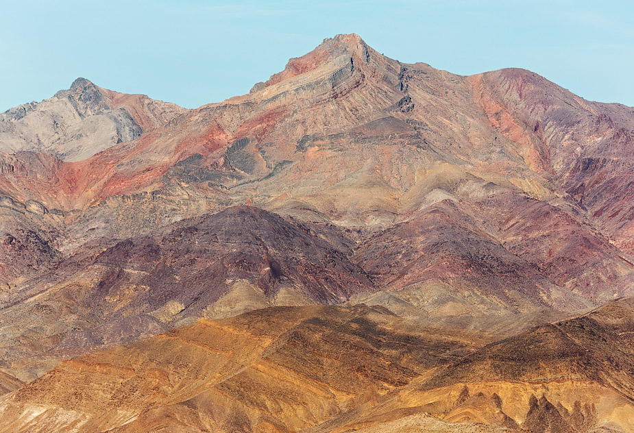 Corkscrew Peak from Chloride Cliff, Death Valley
