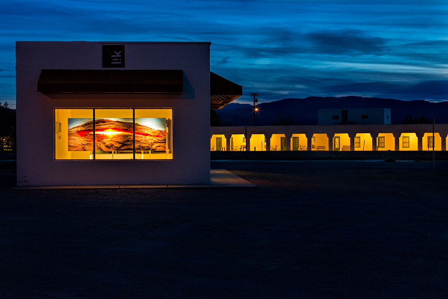 Peter Lik Gallery and Amargosa Hotel at Death Valley Junction