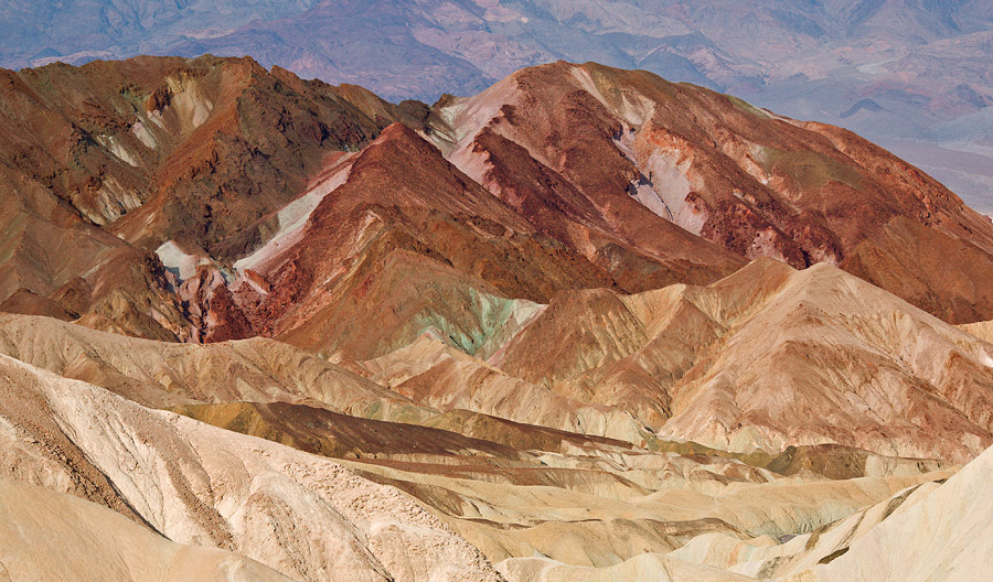 Zabriskie Point, Death Valley <br>5D, 135L