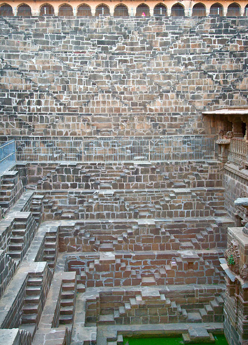 All the 13 levels of the Chand Baori<br>5D, 24-105L