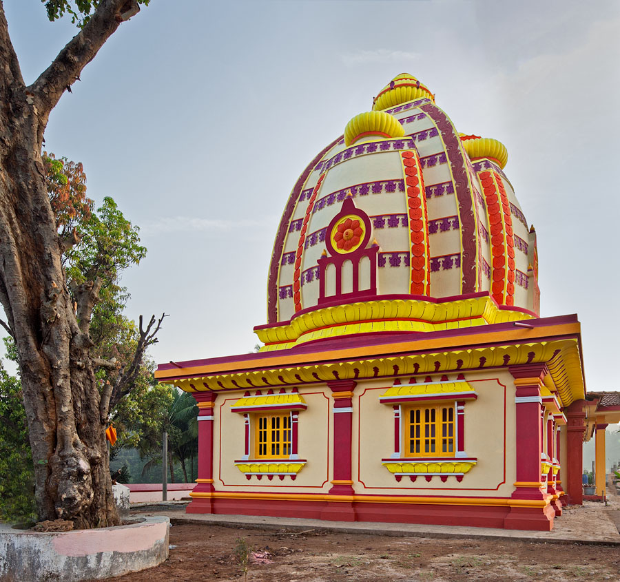 Temple of Lord Brahma in Carambolim, Goa