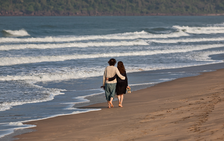 Romantic moments at Agonda, Canacona