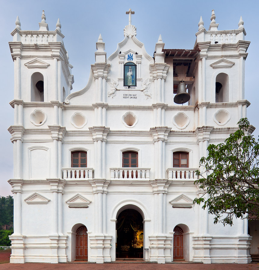 Nossa Senhora do Socorro church in Socorro, Goa