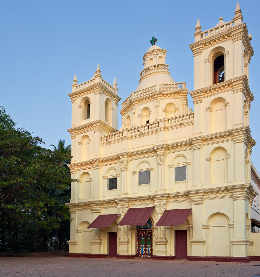 Church of St. Estevem in St. Estevem, Goa