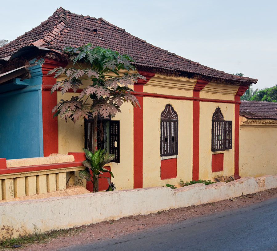 Home of Robert Menezes in Saligao