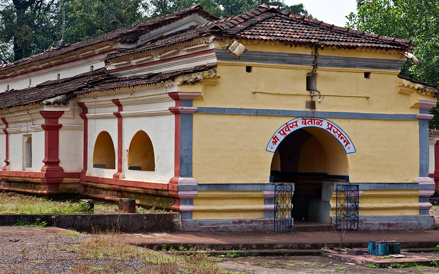Vetal temple at Amona