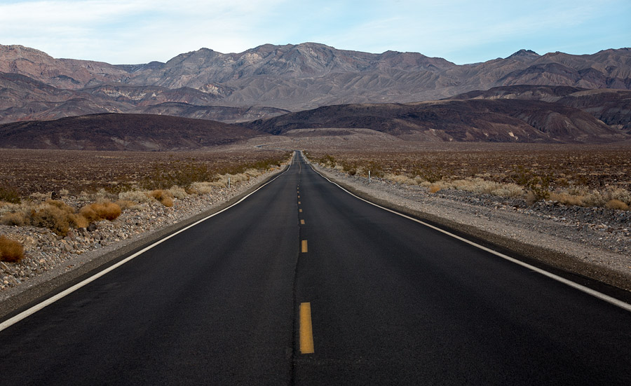 Entering the Panamint Range, Death Valley National Park, California