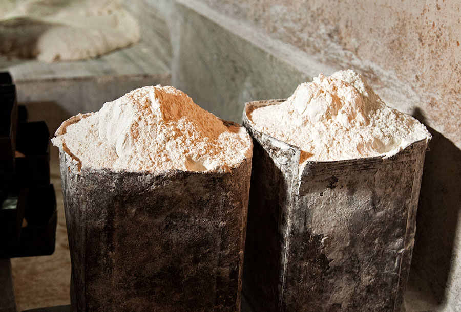 Raw materials - Monteiro Bakery in St Inez