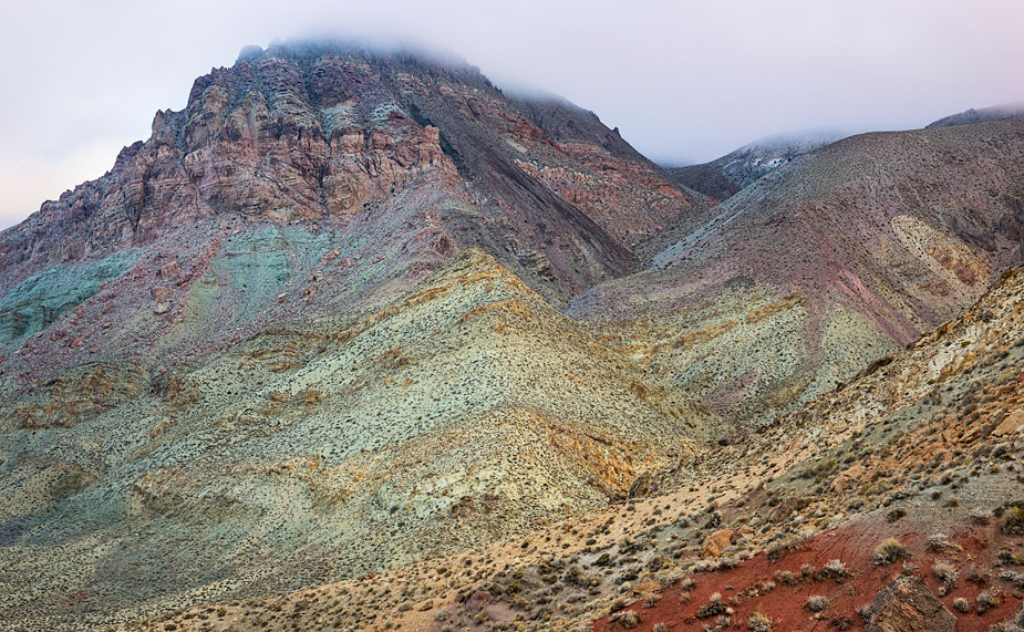 Carnival of colour: view from Red Pass
