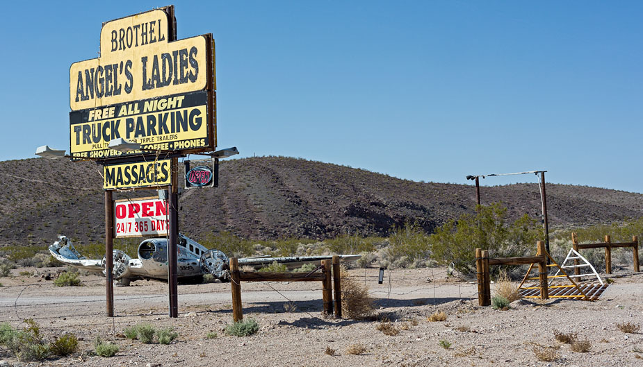 Angel's Ladies Brothel in Beatty, Nevada