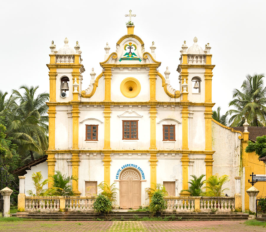 Church of Santa Cruz, Cavelossim » Photo Blog by Rajan Parrikar