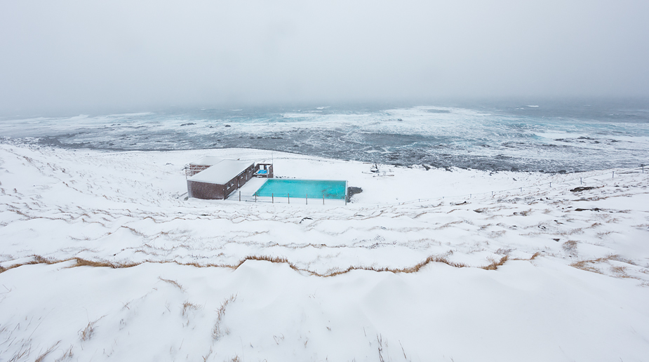 Krossneslaug geothermal pool, world's best pool by location5D Mark III, 11-24L