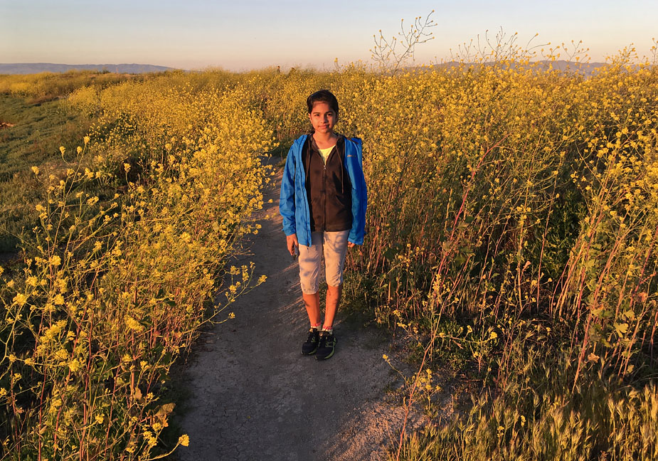 Priyanka at Shoreline Park, Mountain View, California