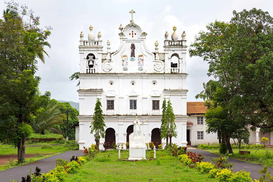 Church of St. Francis of Assisi in Colvale, Goa