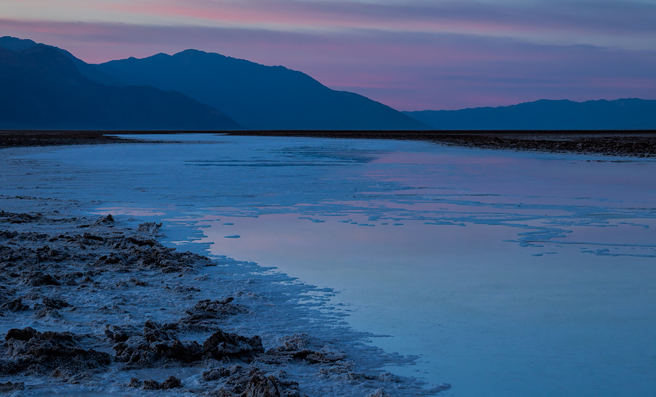 Sunrise at Badwater Basin, Death Valley