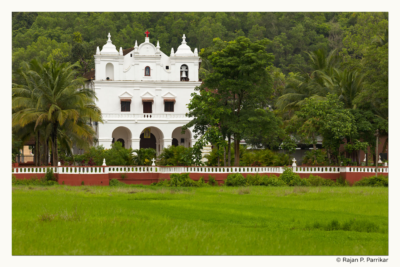 St. Anne Church in Parra, Goa