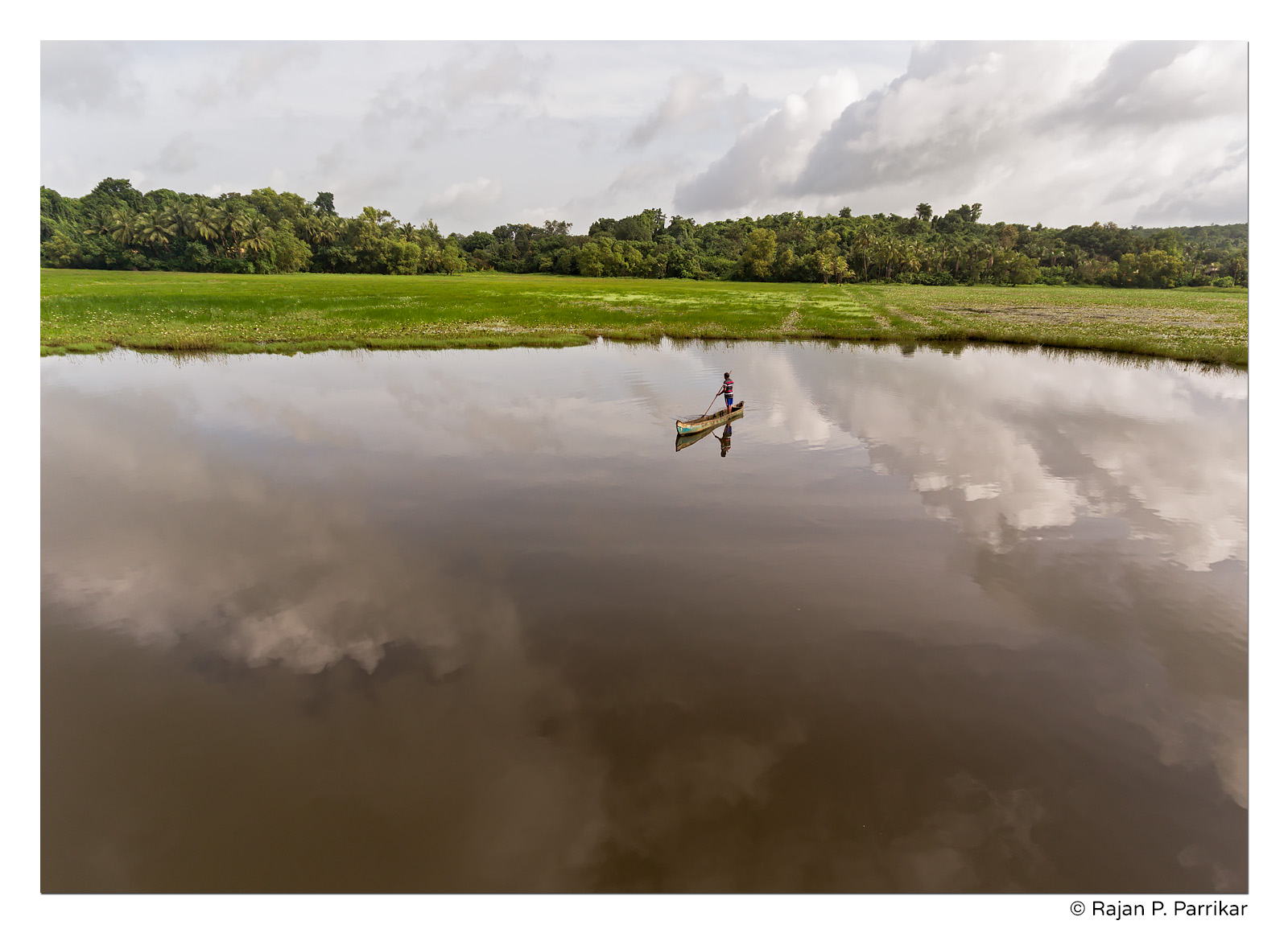 Fisherman in Murdi ward of Narve, Goa