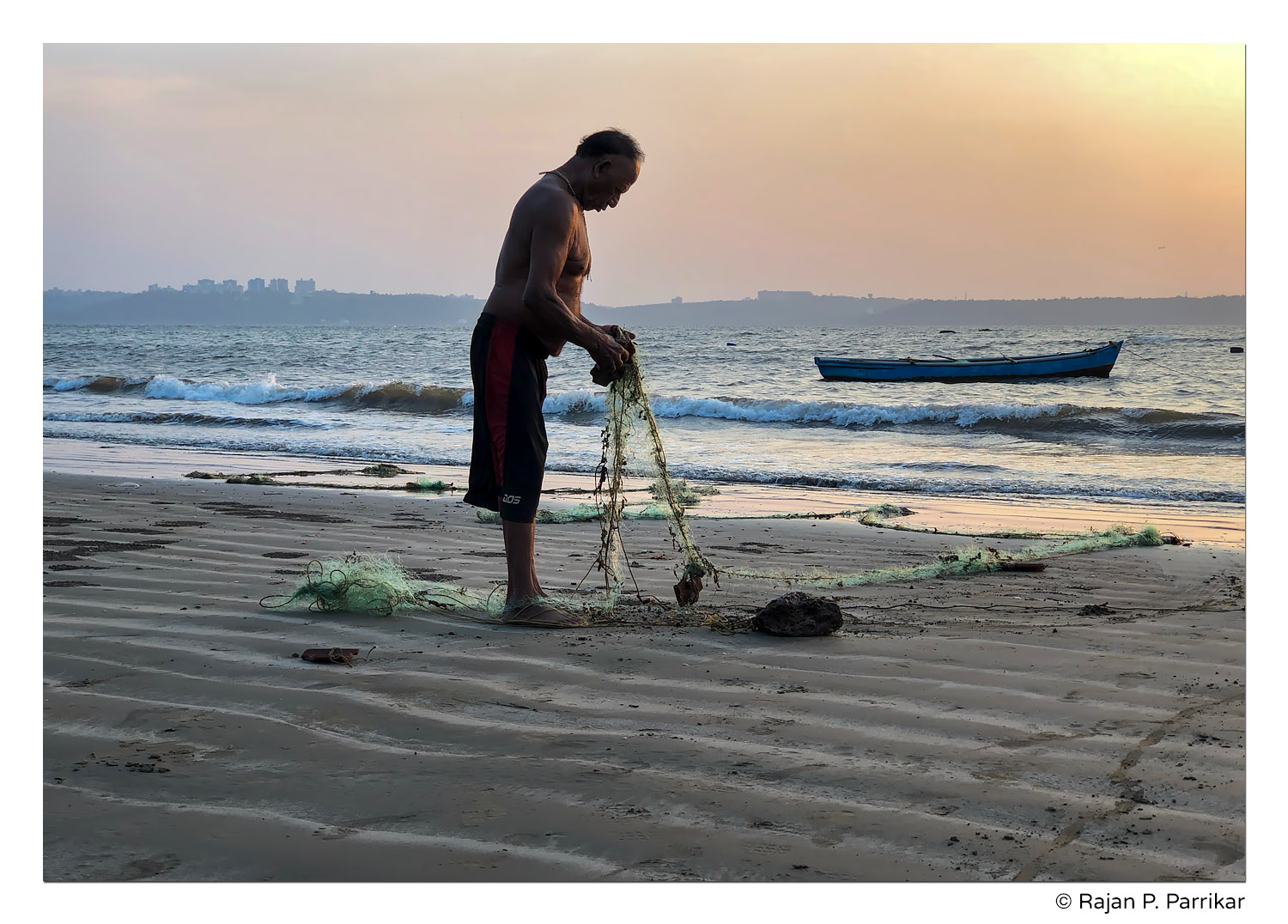 Untangling the net in Siridona, Goa