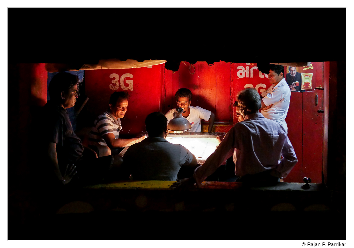 Village carrom in Betqui, Goa